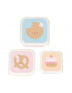 3 Cajitas Almuerzo Cookie