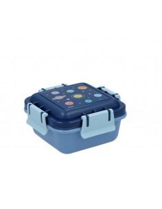 Caja Almuerzo Pequeña Espacio Azul