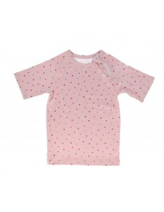 Camiseta Protección Solar Dots Pink