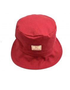 Sombrero ala ancha para bebés, niños y niñas ROJO (SPF 60-80)