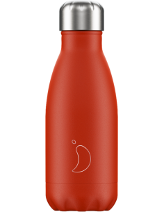 Botella Chilly´s Neón Rojo 260ml