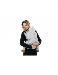Fidella Fusion 2.0 Toddler-Mochila evolutiva Floral Touch Grey