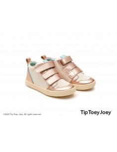 Tip Toey Joey Botín METRO Rosa Metálico