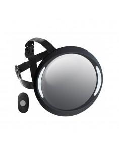 Espejo ACM con luz y mando  (NEGRO)