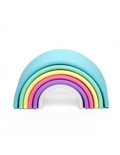 Arcoíris Silicona Pastel DENA