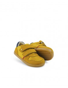 Bobux IW Riley 638103 Chartreuse + Navy FW21