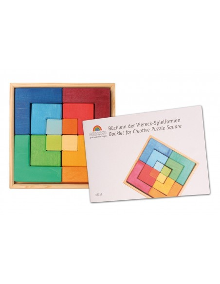 Booklet for Creative Puzzle Square