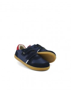 Bobux KP Riley 838105 Navy + Red FW21
