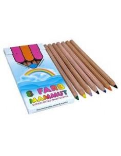 Lápices colorear jumbo, 8...