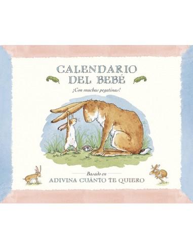 Calendario para bebé.Adivina cuanto te quiero