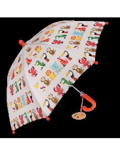 Paraguas Infantil COLOURFUL CREATURES REX
