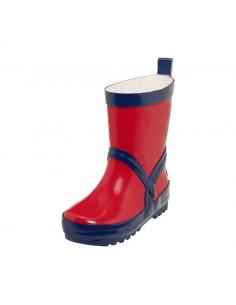 Botas Playshoes Rojo-Navy (Caña alta)