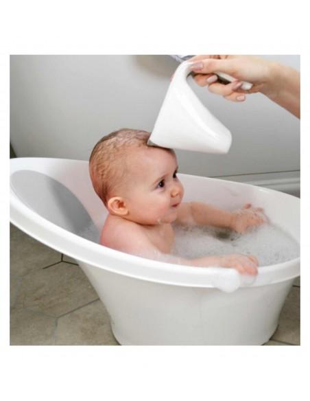 Bañera bebé Blanco Gris Shnuggle