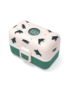 Caja Merienda MONBENTO Tresor Pingüinos