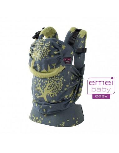 Mochila Evolutiva Emeibaby Easy Treemei Azul-Verde