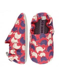 Poco Nido Elephant Red Mini Shoes- FW21