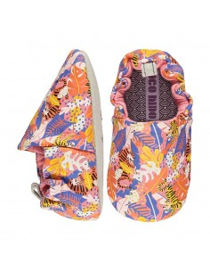 Poco Nido Vegano Tiger Jungle Pink Mix Mini Shoes- FW21