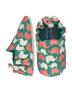 Poco Nido Vegano Elephant Green Mini Shoes- FW21