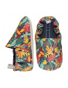 Poco Nido Tiger Jungle Green Mix Mini Shoes- FW21