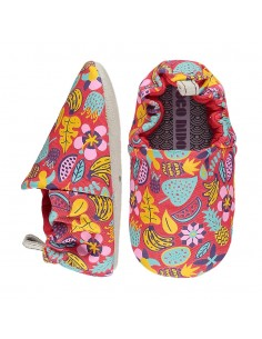 Poco Nido Jungle Flowers Red Mini Shoes- FW21
