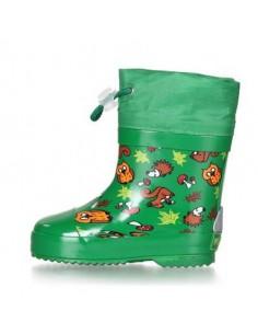 Botas Playshoes Forradas Bosque Verde (Caña baja)