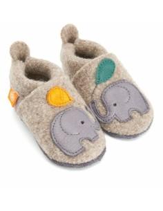 Zapato gateo ORANGENKINDER Lana Elefante