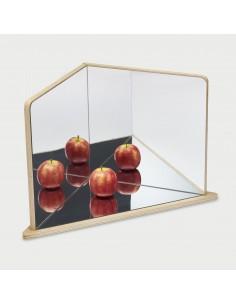 Espejo de exploración de 3 caras