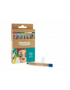 Set 6 Lápices maquillaje Namaki BIO* (Arcoíris)
