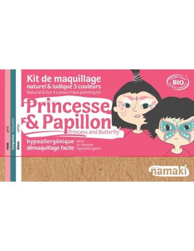 Kit maquillaje Namaki PRINCESA/MARIPOSA