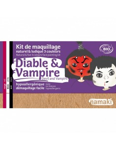 Kit maquillaje ecológico Namaki DIABLO/VAMPIRO