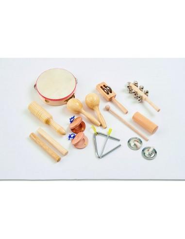 Set Percusión Madera
