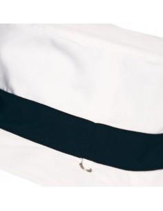 Gorro reversible 100% AntiUV Azul/Blanco