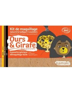Kit maquillaje ecológico Namaki OSO/JIRAFA