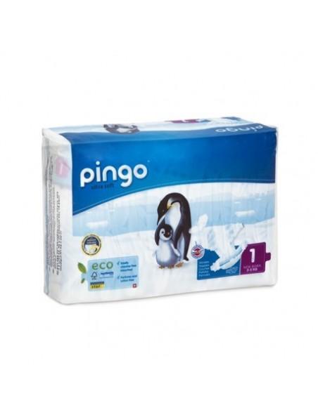 Pañales ecológicos Pingo Talla 1