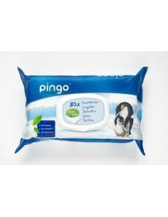 Toallitas desechables ecológicas Pingo