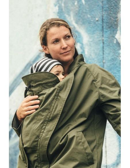 Abrigo Gabardina Maternidad MAMALILA