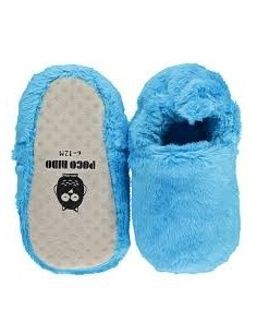 Zapatito POCO NIDO Blue Fluffy
