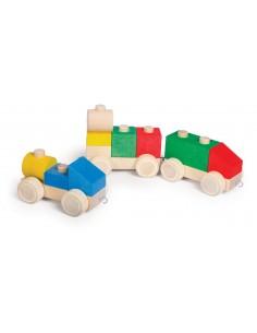 Tren Varis Toys 9 piezas