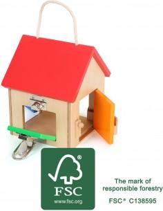 Casa de Cerraduras pequeña