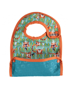 Babero Reversible Tiger Pop In