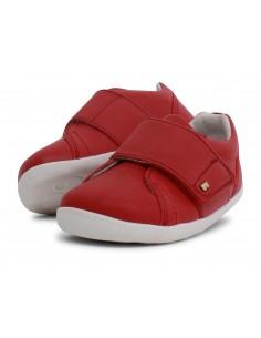 729902 Boston Rio Red Zapato primeros pasos de la marca Bobux. SS19