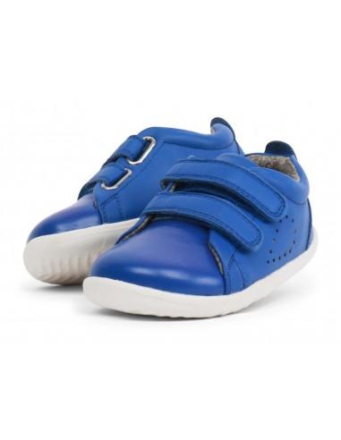 728910 Grass Court Sapphire  Zapato primeros pasos de la marca Bobux.  SS19