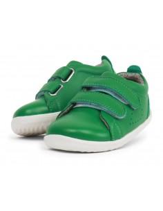728911 Grass Court Emerald  Zapato primeros pasos de la marca Bobux  SS19