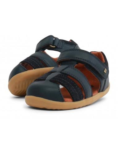 729201 Sandalia Roam Navy  Zapato primeros pasos de la marca Bobux  SS19