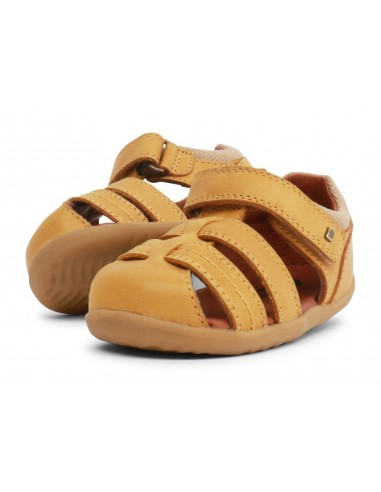 729202 Sandalia Roam Chartreuse  Zapato primeros pasos de la marca Bobux  SS19