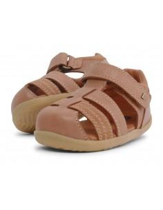 729204 Sandalia Roam Caramel Zapato primeros pasos de la marca Bobux SS19