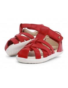 729803 Tropicana Rio Red Zapato primeros pasos de la marca Bobux. SS19
