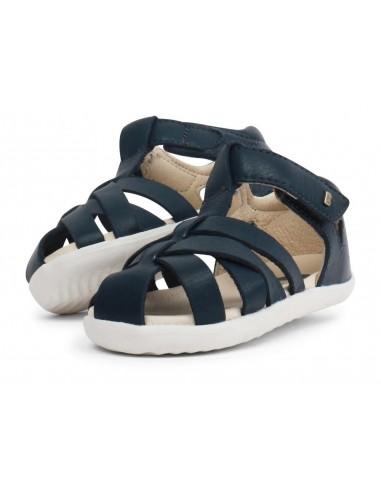 729805 Tropicana Navy Zapato primeros pasos de la marca Bobux SS19