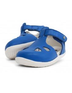725816 Zap Sapphire Sandalia azul Step Up Bobux