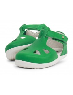 725817 Zap Emerald Sandalia verde Step Up Bobux